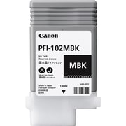 Canon PFI-102MBK Matte Black Ink Cartridge (0894B001)