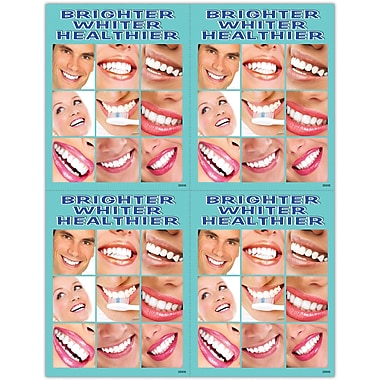 MAP Brand Cosmetic Dentistry Laser Postcards Brighter Whiter Healthier
