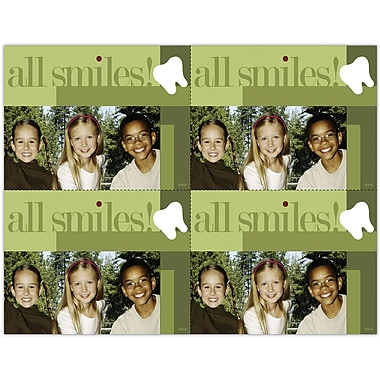MAP Brand Pediatric Dentistry Laser Postcards All Smiles