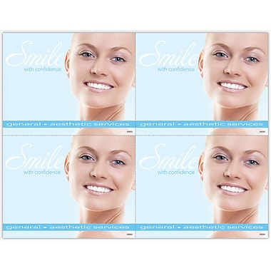 MAP Brand Cosmetic Dentistry Laser Postcards Smile with Confidence