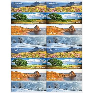 MAP Brand Scenic Laser Postcards Scenic Seasons