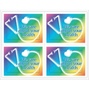 MAP Brand Gentle Care Laser Postcards Stethoscope