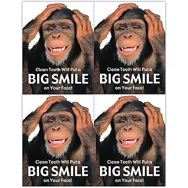 MAP Brand Humorous Laser Postcards Big Smile