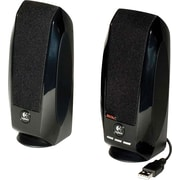 Logitech® S150 1.2 W 2.0 Digital USB Speaker System, Black