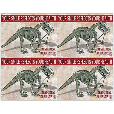 MAP Brand Graphic Image Laser Postcards Restore and Rejuvenate Dino