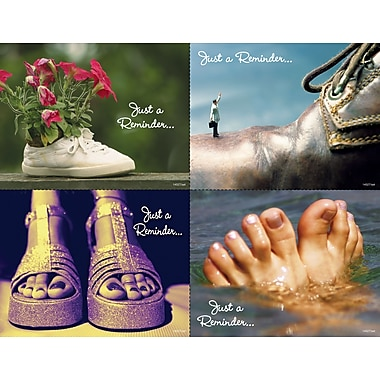 MAP Brand Graphic Image Assorted Laser Postcards Shoes
