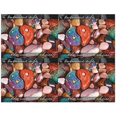 MAP Brand Maintenance Laser Postcards Colored Stones