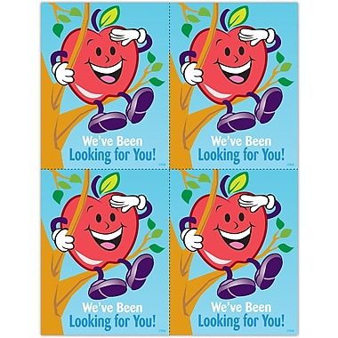MAP Brand Graphic Image Laser Postcards Apple Guy, Looking for You