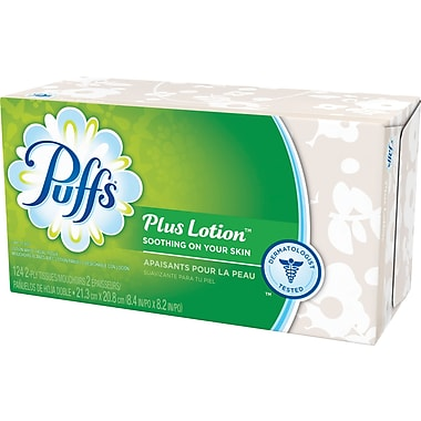 Puffs® Plus Lotion Facial Tissue
