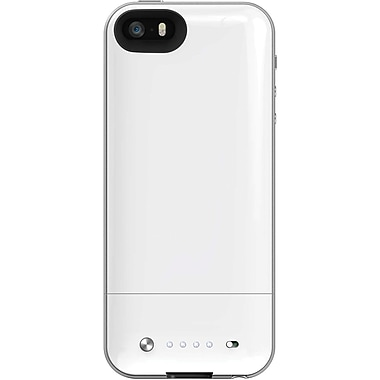 Mophie Space Pack for iPhone 5/5S, 16GB, 1700 mAh, White