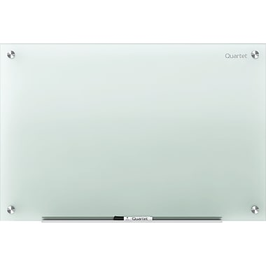 Quartet® Infinity™ Non-Magnetic Glass Dry-Erase Board (20107), Frosted, 24