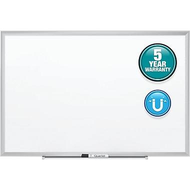 Quartet® Standard Magnetic Whiteboard, 3' x 2', Silver Aluminum Frame