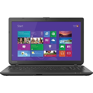 Toshiba, Satellite C55-B5270, 15.6in. Laptop, 8GB Memory, 500GB Hard Drive, Intel Pentium, Windows 8.1