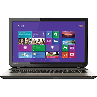 Toshiba, Satellite L75-B7270, 17.3in. Laptop, 4GB Memory, 500GB Hard Drive, Intel Pentium, Windows 8.1