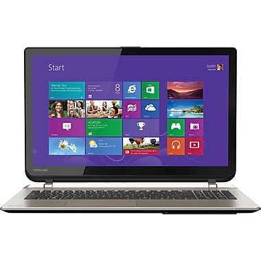 Toshiba Satellite S55T-B5282, 15.6in. Laptop, 12GB Memory, 1TB Hard Drive, Intel Core i7, Windows 8.1, Touchscreen