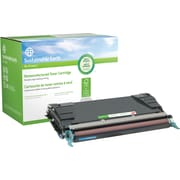 Sustainable Earth by Staples Remanufactured Cyan Toner Cartridge, Lexmark C5242CH (SEBC5240CR), High Yield
