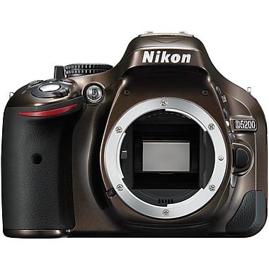 Nikon® D5200 DX-Series Digital SLR Camera Body, 24.1MP, Bronze