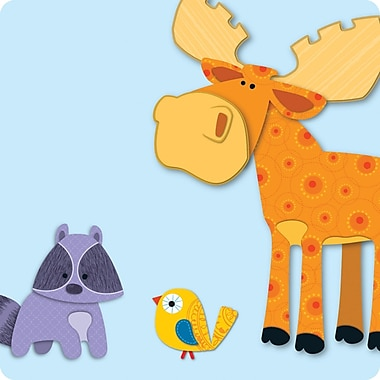 Carson-Dellosa Moose & Friends Mini Cut-Outs, Grades PK - 8