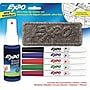 Expo Low Odor Dry-Erase Markers, Ultra Fine Point,