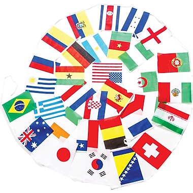 World Cup Country Pennant