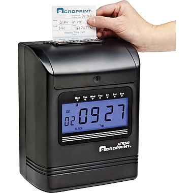 Acroprint ATR240 Top Loading Electronic Time Clock