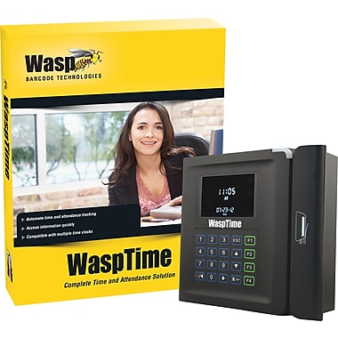 Wasp® Barcode Time & Attendance System