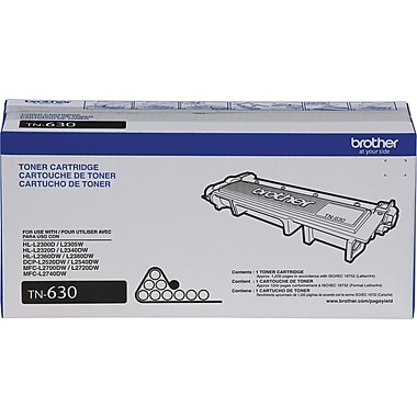 Brother TN-630 Toner Cartridge, Black