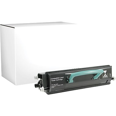 Sustainable Earth by Staples Remanufactured Black Toner Cartridge, Lexmark E350 (SEBE350R), High Yield