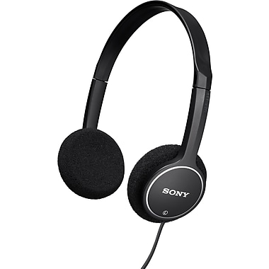 Sony® MDR222KDB Kids Headphone, Black