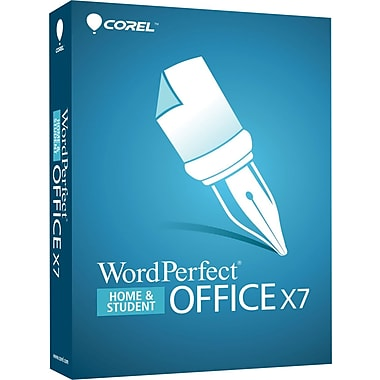 Corel® WordPerfect® Office X7, Home & Student Edition, Bilingual, 3PC