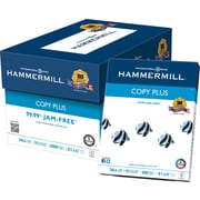 "Hammermill® Copy Plus FSC-Certified Paper, 20 lb., 92 Bright, 8.5"" x 11"", 5,000/Case null"