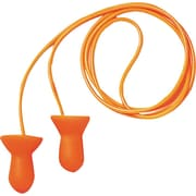 Howard Leightning® Quiet® Corded Reusable Earplugs, Orange, 26 dB, 100/Box
