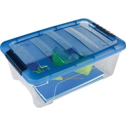 Iris 12.95 QT Stack & Pull File Box
