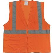 PIP 2-Pocket Safety Vest, Orange, Large