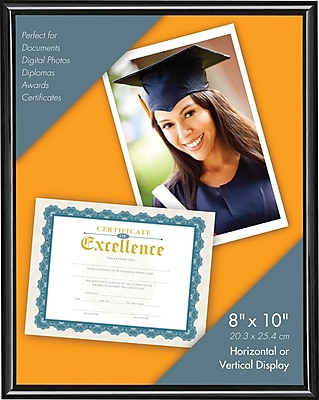 8X10 UCHANNEL FRAME BLACK