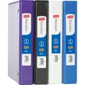 1/2in. Staples® Standard 5-1/2in. x 8-1/2in. Mini View Binder with Round Rings