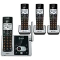 AT&T CL824213 4 Handset Cordless Phone and Answering System with Caller ID/Call Waiting