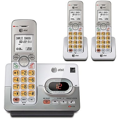 AT&T EL52303 3 Handset Cordless Phone and Answering System and Caller ID/Call Waiting