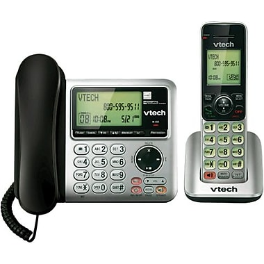 VTech CS6649 Corded/Cordless Answering System with Caller ID/Call Waiting