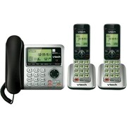VTech CS6649-2 2 Handset Corded/Cordless Answering System with Caller ID/Call Waiting