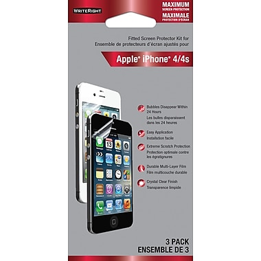 WriteRight Maximum Screen Protection for iPhone 4