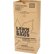 Wet Lawn and Leaf Bags, Kraft Paper, Recycled, 5 pk