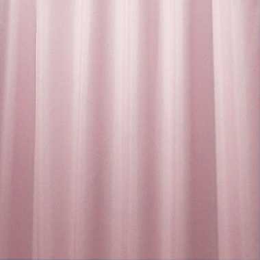 InterDesign® Waterproof Fabric Polyester Shower Curtain Liner, Pink
