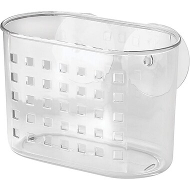 InterDesign® Suction Mini Shower Basket, Clear