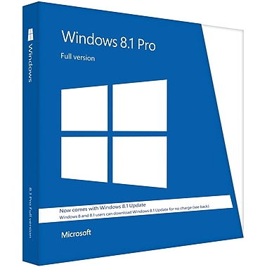 Windows 8.1 Pro (1-License) [Boxed]