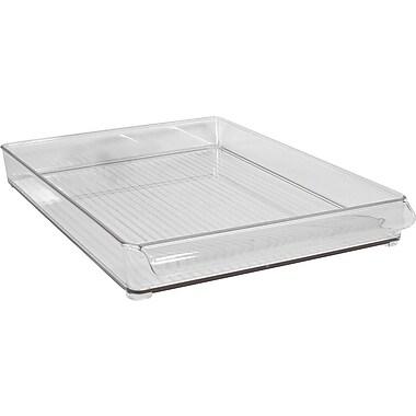 InterDesign® Plastic Fridge and Freeze Binz, Clear