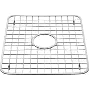 InterDesign® Sink Grid With Drain Hole, Polished Stainless Steel