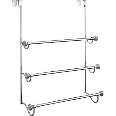InterDesign® York Over The Shower Door 3 Towel Rack, Split