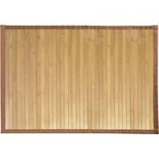 """InterDesign® Formbu 24"""" x 17"""" Bamboo Small Floor Mat, Natural Bamboo"""