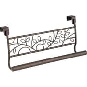 InterDesign® Twigz 9 Over The Door Towel Bar, Bronze